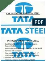 CSR at Tata Steel