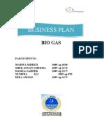 Business Plan Bio Gas