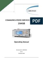 2945B Operating Manual