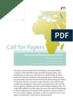 CfP International Peacekeeping in Africa 2012
