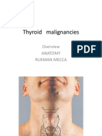 Thyroid Malignancies