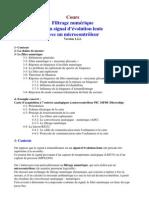 cours filtrage numerique