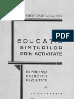 75297726-Educaţia-simţurilor-prin-activitate-Experienţă-exerciţii-rezultate-1937