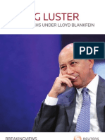 Losing Luster_Goldman Sachs Under Lloyd Blankfein
