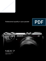 NEX7 Brochure Sonyalphanex.blogspot