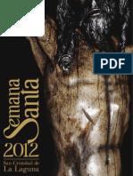 Programa Semana Santa La Laguna 2012