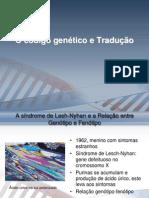 O código genético e Tradução