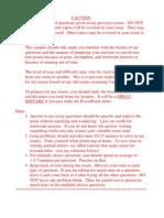 Sample Exam 1 Problems-Kieso
