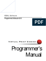 Programmers Manual