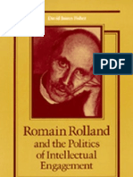 Romain Rolland and the Politics of Intellectual Engagement