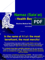 Namaz - The Health Benefits