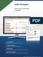 TeleTrader Funds Flyer (Deutsch)