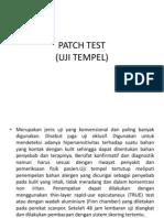Patch Test