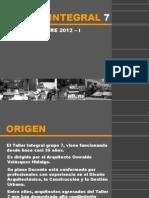 Presentacion Taller 7 - 2011-II (Proy. 2012-I)