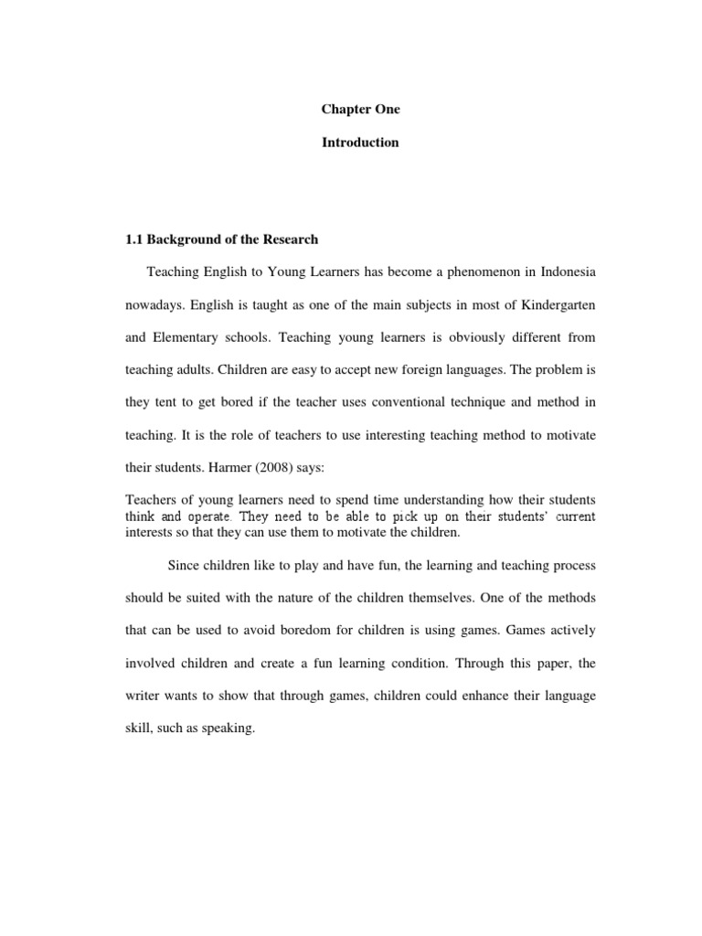 research papers on learning vocabulary using through games