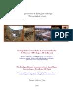 Ecologia de Las Comunidades as de La Cuenca Del Rio Segura