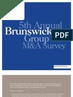 Brunwick Group M.&A. survey