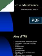 Total Productive Maintenance Tpm Wcm