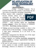 SAIT-I (Knowledge Management & ERP)
