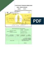Contoh Contoh Bukti Transaksi Pembayaran