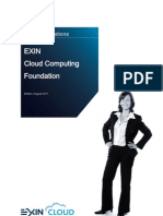 Sample Exam Exin Cloud Foundation English