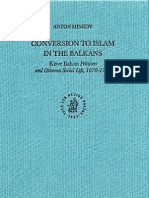 Conversion to Islam in the Balkans - Anton Minkov