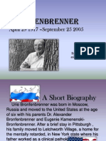 Urie Bromfenbrenner