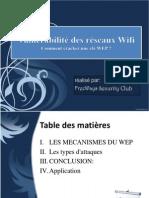 Vulnérabilité des réseaux Wifi (1er partie)