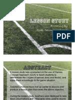 B3_Lesson Study in PE