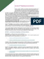 0- Introduction-Institutions et régimes politiques sous la Ve Republique