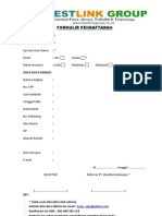 FORMULIR PENDAFTARAN BESTLINK | INVESTASI FOREX, AMAN, TERBUKTI & TERPERCAYA