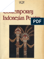 Contemporary Indonesian Poetry