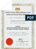 Hadenan Shariah Re-Enforcement & Investigation