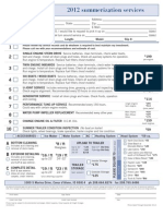 HMG Summerization Form 2012