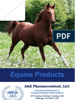 A&Z Pharmaceutical Equine Brochure