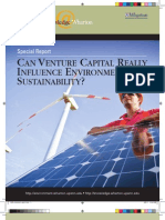 Can Venture Capital Really Influence Sustainability? A Knowledge@Wharton and IGEL Report
