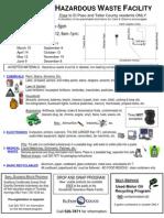 El Paso Household Waste Flyer