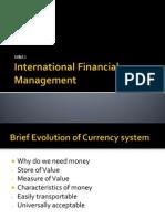 1 International Financial Management
