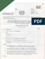 OVNI - Assemblee Generale Nations Unies 6 10 78