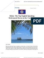 Belize_ the Top English Speaking Retirement Haven in the Caribbean