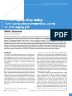 From Senescence-promoting Genes to Anti-Aging Pill