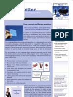 Teacher's Newsletter January 2008