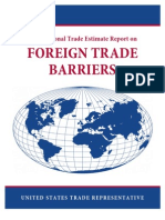 2009 National Trade Estimate Report on Foreign Trade Barriers