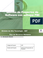 RRHH Del Proyecto