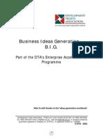 Business Ideas Generation
