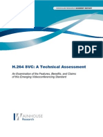 h.264 Svc-A Technical Assessment Summary