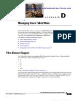 Managing Cisco Fabric Ware
