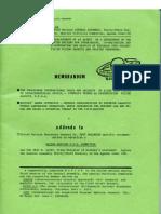 Memorandum Icufon 1977