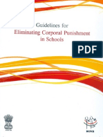Guidelines for Eliminating Corporal Punishment in Schools