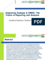 Integrating Obiee and Essbase